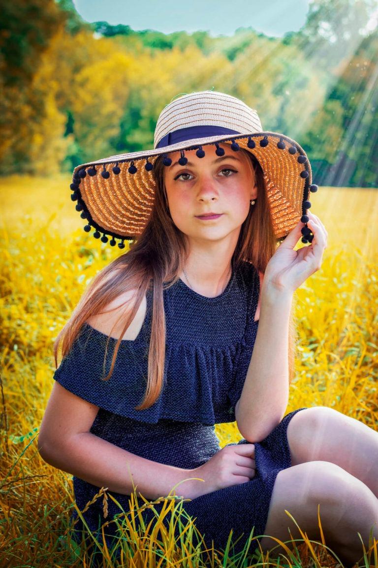 Portrét v prírode