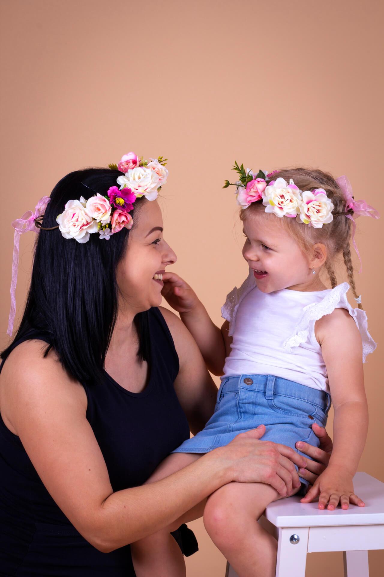 Fotka matky a dcéry