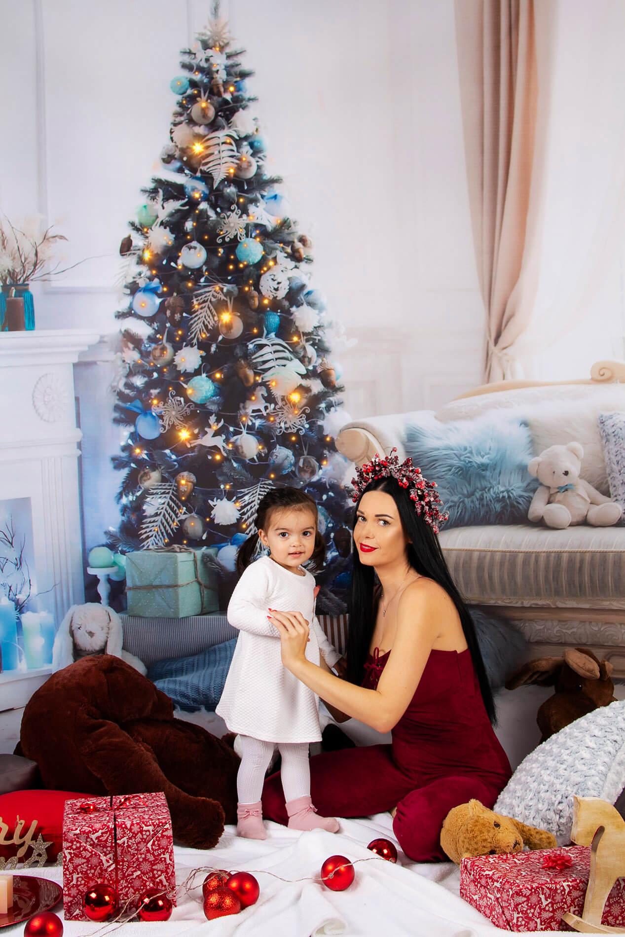 Vianočné fotenie v ateliéri pri Nových Zámkoch