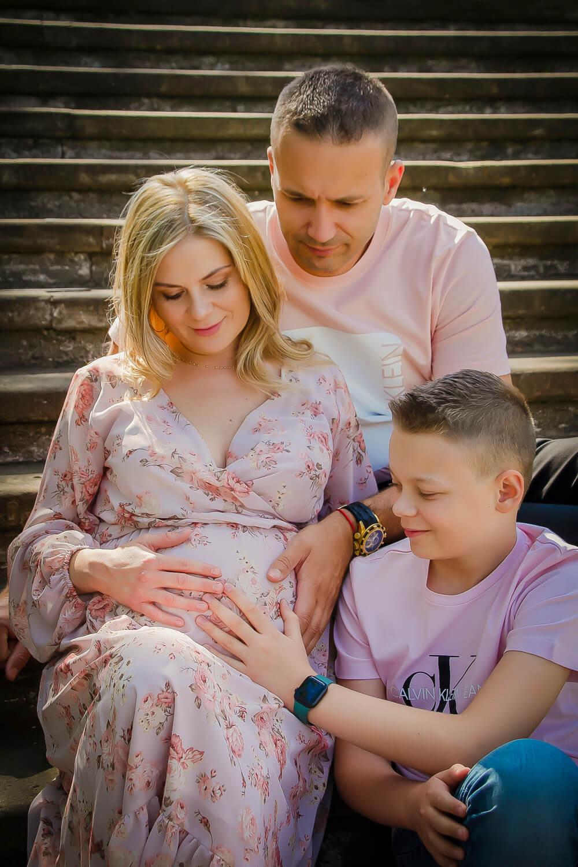 Tehotenské fotenie - rodina, Nové Zámky - Kitti Photo